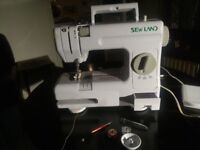Sewland vintage miniature electric sewing machine