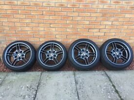 Style 66 BMW 5x120 Alloy Wheels & Tyres