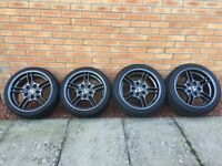 Style 66 BMW 5x120 Alloy Wheels & Tyres