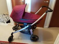 Maxi Cosi Elea 2in1 Pram System - Less than a year old - In excellent condition