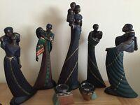 Mahogany Princess statues/sculptures/ornaments