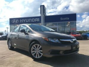 2012 Honda Civic EX - $91 Biweekly - Leather