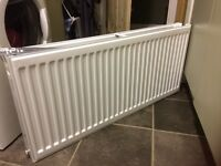 Double radiator, nearly new, full working order