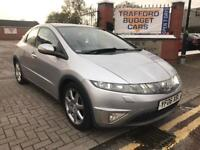 Honda Civic 2006, 2.2cdti Full Honda history, 5 door, 12 months MOT. Cheap reliable car