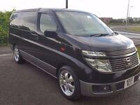 fresh import Nissan Elgrand(2003) 3.5 8 seater