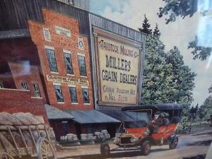 """Lance Russwurm """"The Mill and the Library"""" Signed and Numbered Stratford Kitchener Area image 4"""