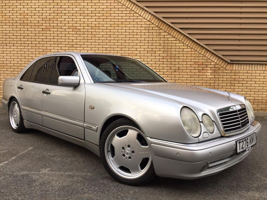 mercedes w210 e55 amg 5 4 v8 m113 long mot fully loaded bargain in berkshire gumtree. Black Bedroom Furniture Sets. Home Design Ideas