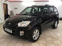 !!FULL LEATHER!! 2002 TOYOTA RAV4 2.0 VVTI 4X4 / MOT SEP 2018 / SERVICED / ONLY 2 PREVIOUS OWNERS