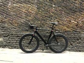 GOKU CYCLES!!! Aluminium Alloy Frame Single speed road track bike fixed gear racing fixie bicycle q