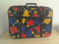 Retro vintage suitcase from 1982