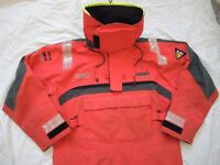 MUSTO HPX SAILING SMOCK STRETCH GORETEX ULTIMATE SAILING CLOTHING GOOD USED CONDITION BARGAIN