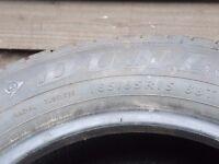Dunlop car tyre