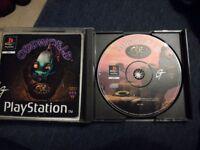 Playstation one oddworld game