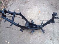 1997 Peugeot Speedfight 100cc Frame - V5 Logbook, Number Plate HPI Clear - R Reg