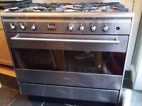 "SMEG SUK90MFX OVEN - oven ""partially"" working"