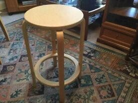 One IKEA Stool Excellent condition Measurements Height 25in/64cm Diameter 14in/36cm