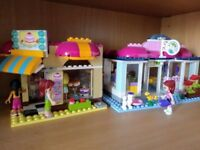 Lego bakery and pet grooming salon