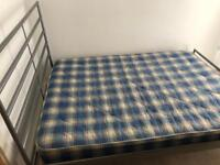 King size Bed and mattress in decent condition