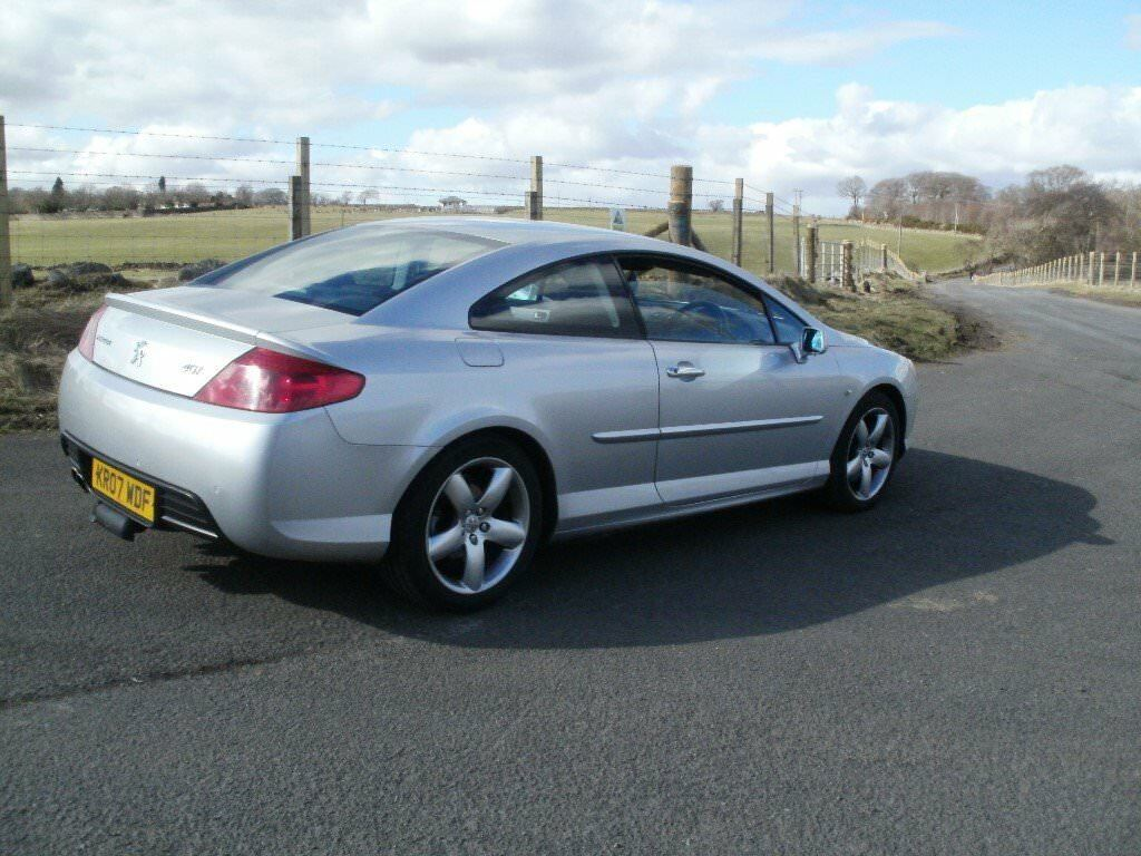 Peugeot 407 coupe 3 litre GT ,rare 6 speed manual.