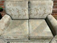 Sofa & separate chair (can split)