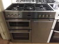 Belling 5 burner gas Cooker (Dual fuel)