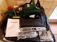 Electric chainsaw like new