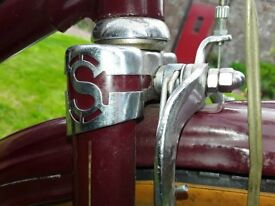 Only one of its kind brand new Vintage 1950's Sunbeam Ladies Tourist bicycle never been used.