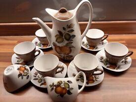 Vintage Midwinter Coffee Set