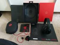 Beats studio 2 wireless headphones bluetooth matt black genuine