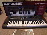 Novation Impulse 49 Key USB MIDI Controller Keyboard Ableton/Logic/Cubase