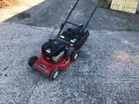 Self propelled rover lawn mower
