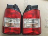 VW transporter rear lights