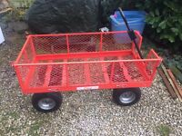"Heavy duty Garden Trolley 50""x24"" xxxlarge"