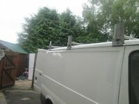 Factory made David Murphy galvanized roof rack with roller for s.w.b ford transit