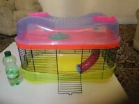Funky Two Storey Hamster Cage with accessories *Bigger than it looks in photo*