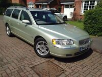 Volvo V70 D5 SE Estate 6 Speed Diesel MANUAL 142K FSH Long Mot No Advisory