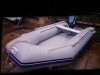 Inflatable Boat 2.7M 4Hp Yamaha