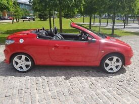 Peugeot 206 convertible 1.6 Allure;Full service history;Leather