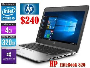 Laptop HP EliteBook 820 - Core i5 - 320 GB - 4GB RAM