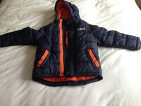 St George by duffer boys coat age 5/6