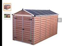 Pal ram 12 x 6 ' Garden shed