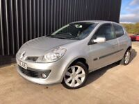 2008 Renault Clio 1.2 TCe 16v Dynamique S 3dr 2 Keys, Service History, Huge Spec Finance Available