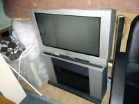 Television - Cathode ray tube with stand. Collection only. Free