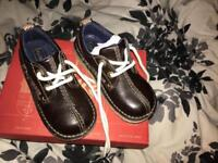 Brown kickers size 9