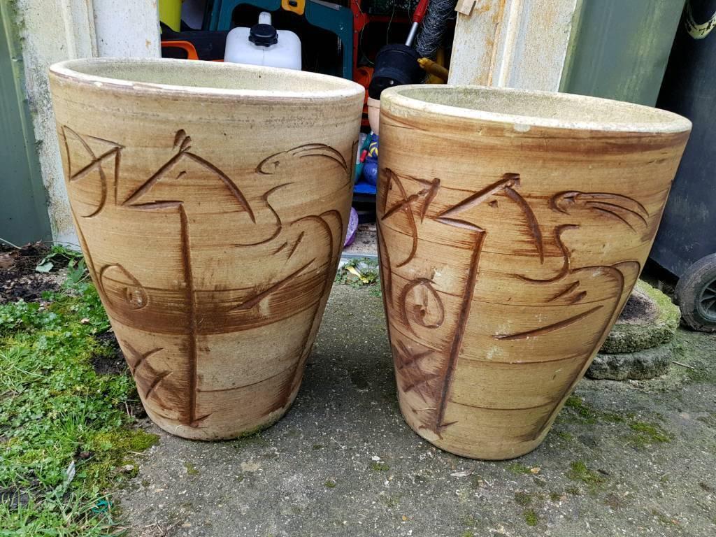 Pair of garden pots   in Tilehurst, Berkshire   Gumtree