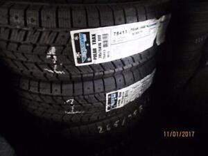 245/75R16 2 ONLY NEW IRONMAN WINTER TIRES