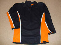 Rugby Top, Falcon To fit 34/36 ( 86.91cm) Navy and Orange