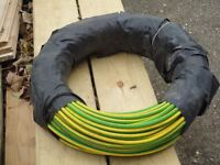 25MM EARTH WIRE (GREEN/ YELLOW) 100 MTS.