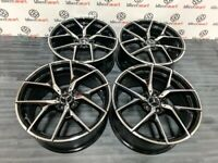 "BRAND NEW MERCEDES 19"" 20"" 507 AMG STYLE ALLOY WHEELS - BLACK/DIAMOND CUT- 5 X 112"