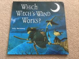 Which Witch's Wand Works ? Book by Poly Bernatene